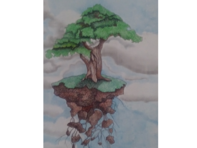 Floating Bonsai