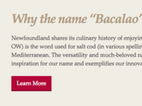 Bacalao Website Why