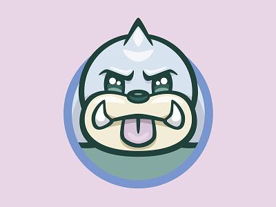 086 Seel kanto patch pokémon collection series pokédex illustration icon badge mascot