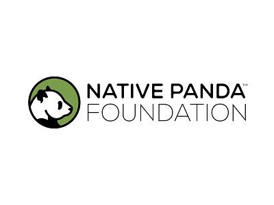 Native Panda Foundation branding bamboo endangered foundation conservation panda daily logo challenge logo