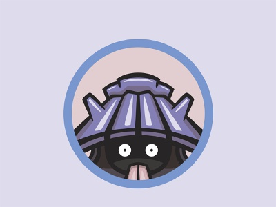 090 Shelldar kanto patch pokémon collection series pokédex illustration icon badge mascot