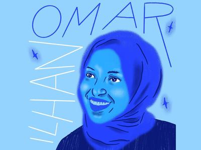 Ilhan Omar Portrait
