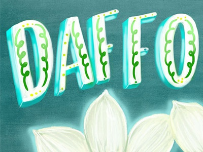 Daffodils i remember whensday daffodils flower spring lily illustration lettering