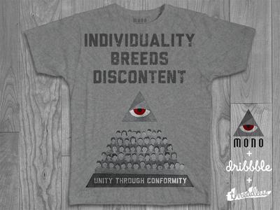 MONO T-Shirt - Threadless Competition