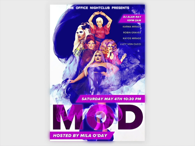 Animated Drag Poster motion after effects poster drag