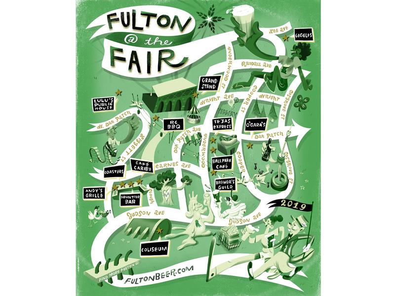 Fulton at the Fair! Print Ad