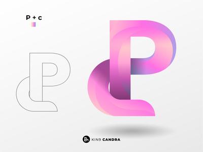 P+c design branding brand design brand logodesign logo illustrator graphicdesign artist art