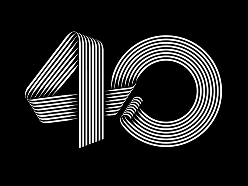 prince s trust 40yr anniversary logo by jonathan mcghee dribbble