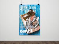 Carrefoursa Gurme Poster Design