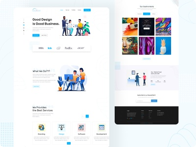 CloudEsoft Agency Web software development software design software ecommerce branding website minimal design ui web ux illustration agency