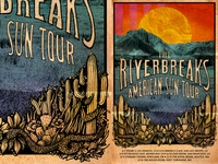 American Sun tour poster