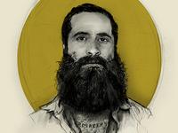 JP Harris portrait draft