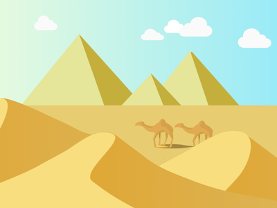 EGYPT illustration vectorart branding illustraion design