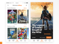 Nintendo Switch Online - eShop & Game Screen