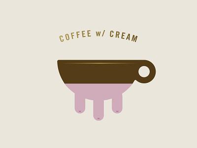 Coffee w/cream nipples funny udder cream coffee