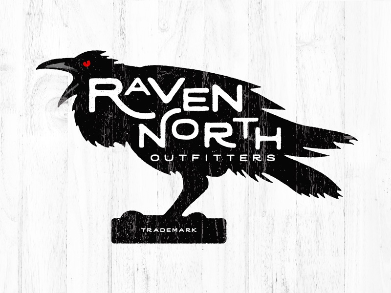 Raven North Outfitters hunting sinister dark weather vane distressed grunge outfitters north raven