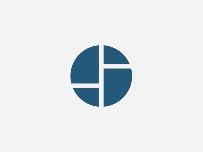 Stewart Design icon coffee hustle mondrian circular geometric abstract s