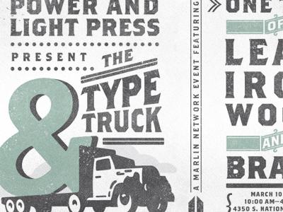 TypeTruckPoster