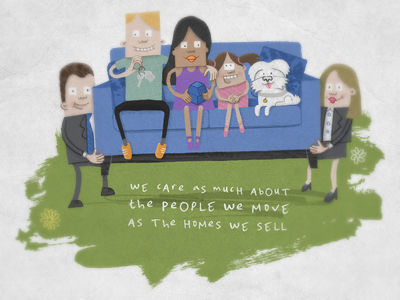 Sofa illustration