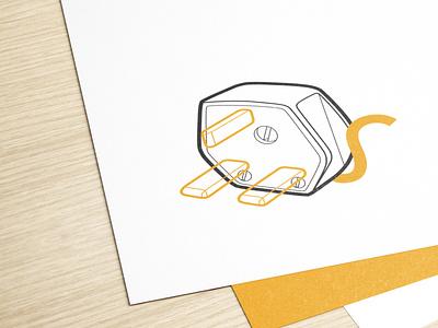 Appliance Roundup branding vector design logo