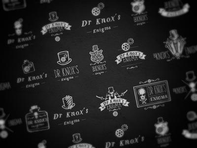 Dr Knox's Enigma Logos