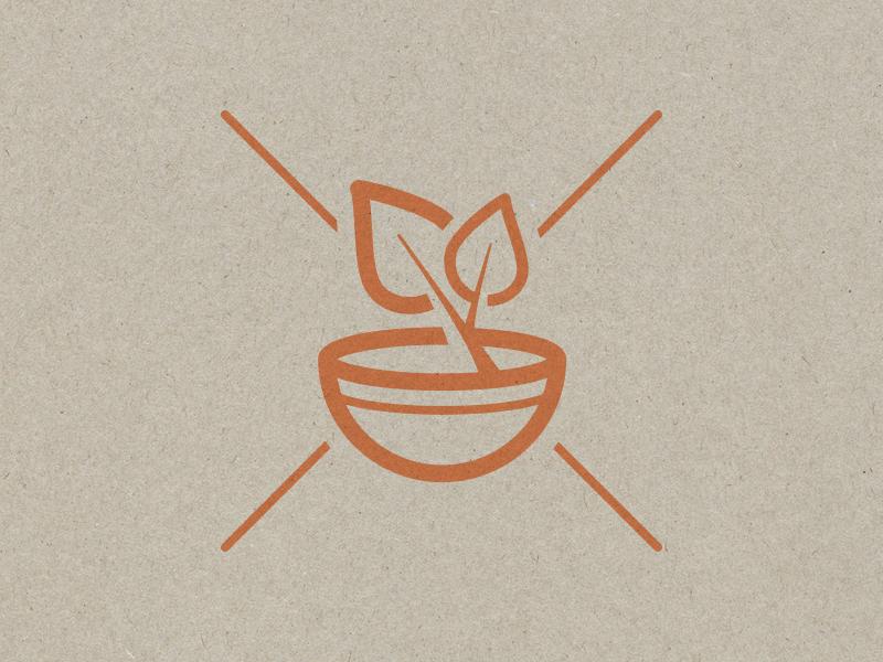 om-nom-nom icon design logo