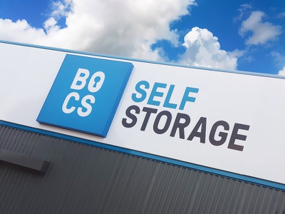 Bocs Sign sign logo branding