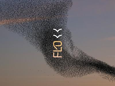 Flokk branding logo design