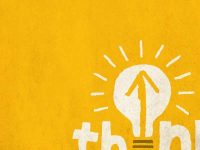 Bulby logo vector texture illustration bulb yellow