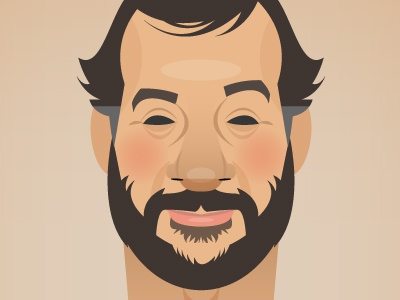 Judd portrait caricature judd apatow funny comedy movies director producer hollywood vector illustrator
