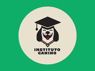 Instituto Canino WIP dog logo dog instute logos training school