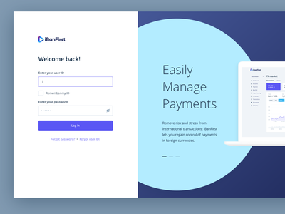Login Page fintech sign in authentication login page login design user interface ux ui