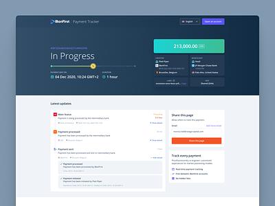Payment Tracker money webdesign finance payment tracking tracker website user interface ux ui