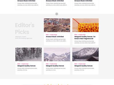 DAN Website Homepage simple white icons layout agency clean website ui homepage
