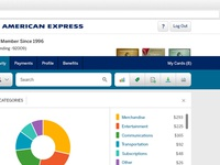 American Express E-statement