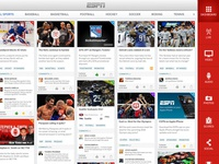 ESPN Live - Dashboard