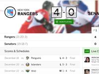 ESPN Live - Live Match View