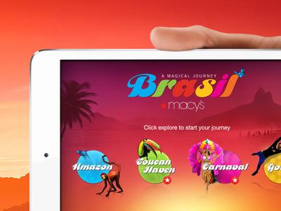 Macy's - Brasil macys brasil brazil augmented reality interactive