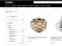 1stdibs Ecommerce Experience shopping ecommerce rare antiques luxury 1stdibs