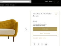 1stdibs Ecommerce Experience
