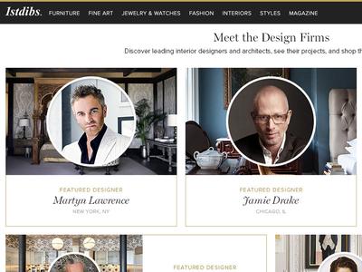 1stdibs Trade Platform interior design trade shopping ecommerce rare antiques luxury 1stdibs