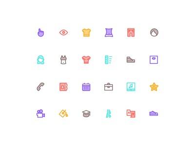 Icon set for HAHO part 3