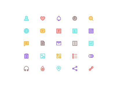Icon sets for HAHO part 4