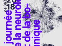 Journey of neurology and botanic poster