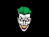 Smile a little dc illustration the joker