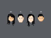F4 - Pixel buddies