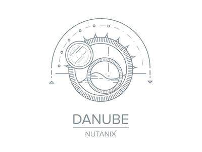 Danube illustration danube logo