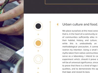 Branding Swatches. branding catering urban.