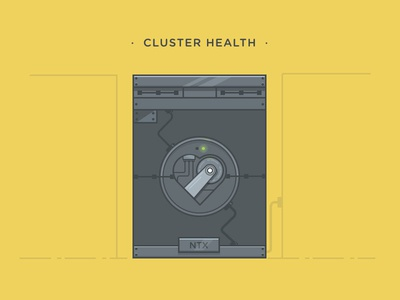 Clusterhealth t shirt design cluster health heart
