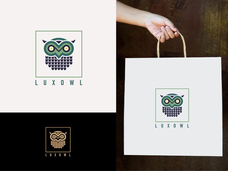 luxowl logo brand identity design owls owl illustration owl logo logo design mordern logo creative logo brand and identity brand design branding brand identity